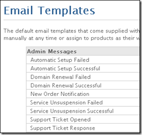 Emails Templates