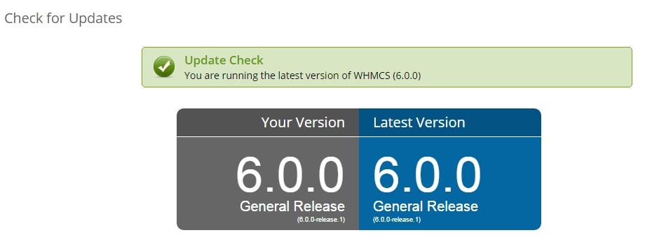 WHMCS atualizado!