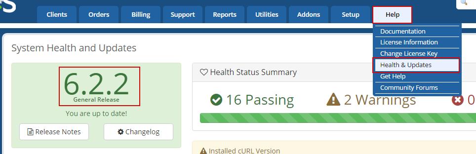 WHMCS Atualizado - v6.2.2